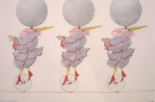 Paul Flora - 7. Das Trio auf dem Drahtseil