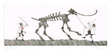 Paul Flora - Das störrische Mammut