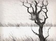 Paul Flora - Das Baumhaus