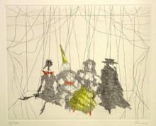 Paul Flora - Marionettenquartett