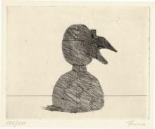Paul Flora - Maske