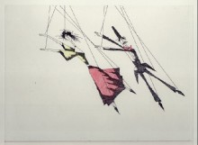 Paul Flora - Marionettentanz
