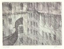 Paul Flora - Venezianische Stille