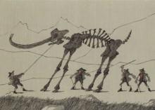 Paul Flora - 57. Das störrische Mammut