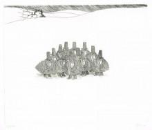Paul Flora - Dreizehn Unglücksraben