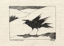 Paul Flora - 86. Ein Rabenschrei
