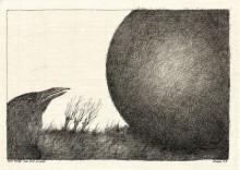 Paul Flora - 71. Der Rabe und die Kugel