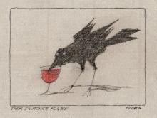Paul Flora - 77. Der durstige Rabe