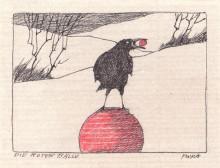 Paul Flora - 91. Die roten Bälle
