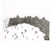 Paul Flora - Runder Platz