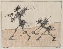 Paul Flora - 93. Zwei Teufel
