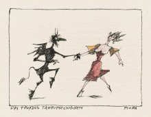 Paul Flora - 59. Des Teufels Tanzvergnügen