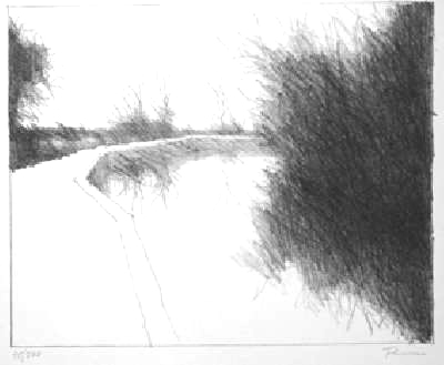 Paul Flora Lithographie Torcello