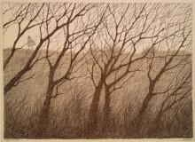 Paul Flora - 11. Kahle Bäume
