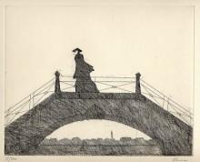 Paul Flora - Venezianische Brücke