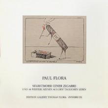 Paul Flora - Selbstmord einer Zigarre