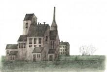 Paul Flora - 119. Alte Fabrik