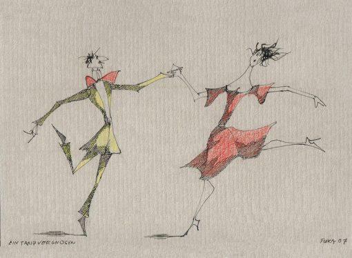 Paul Flora Ein Tanzvergnügen