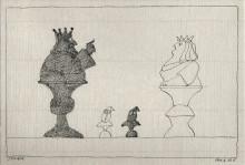 Paul Flora - Schach