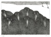 Paul Flora - Sieben Raben
