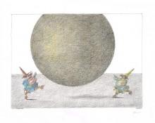 Paul Flora - Der gelbe Ball