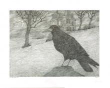Paul Flora - 14. Zu Edgar Allen Poe