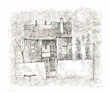 Paul Flora - Altes Haus