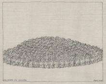 Paul Flora - Ein Hügel voll Chinesen