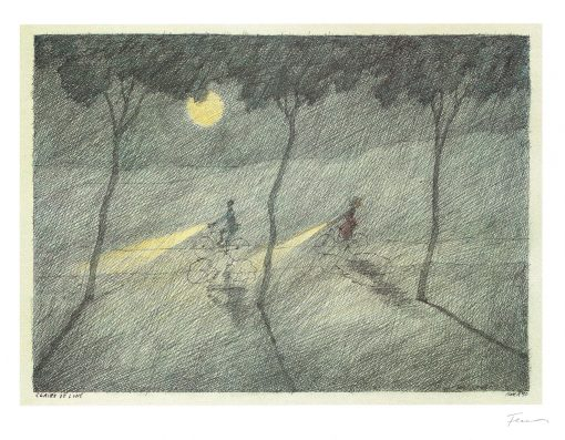 Paul Flora Claire de Lune