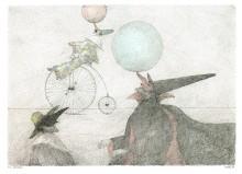 Paul Flora - 05. Die Artisten