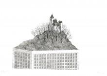 Paul Flora - Die feste Burg