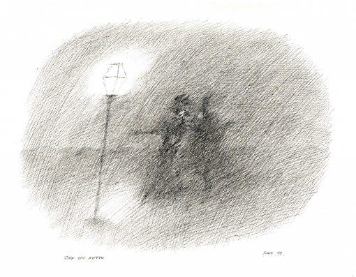 Paul Flora Jack the Ripper