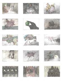 Paul Flora - 15. Winzige Werke – handsigniert