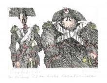 Paul Flora - Der dünne und der dicke Carabiniere