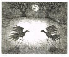 Paul Flora - Nachtvögel