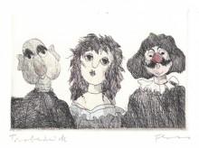 Paul Flora - Puppen