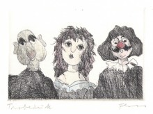 Paul Flora Puppen