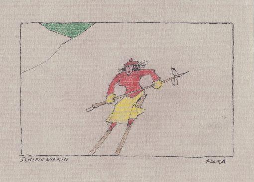 Paul Flora Schipionierin