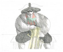 Paul Flora Tiroler Tubabläser