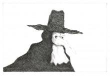 Paul Flora Venezianische Maske