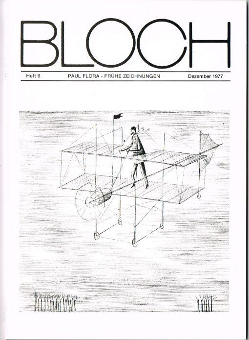 Buch Paul Flora Frühe Zeichnungen Bloch Nr9