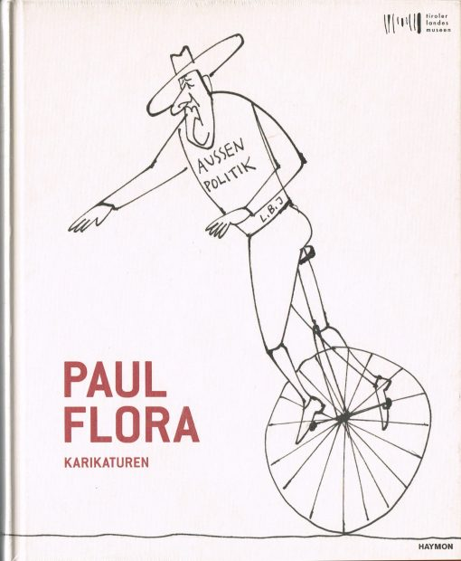 Buch Paul Flora Karikaturen
