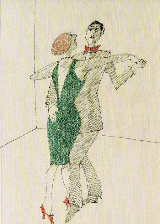 Paul Flora Billet Tango