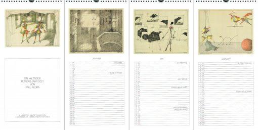 Paul Flora Kalender 2021